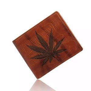 Men Leather Card Cash Holder Wallet